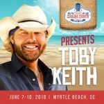 Raise Your Red Solo Cup – Toby Keith joins highly anticipated Carolina Country Music Fest 2018 roster