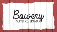 Bowery Supply Co. Brand