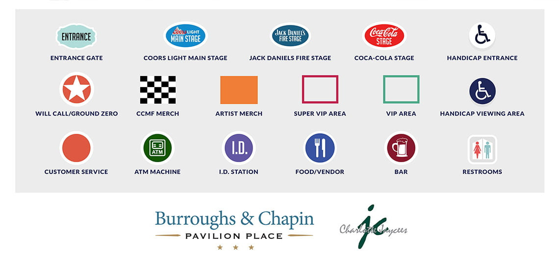 Festival Map Key