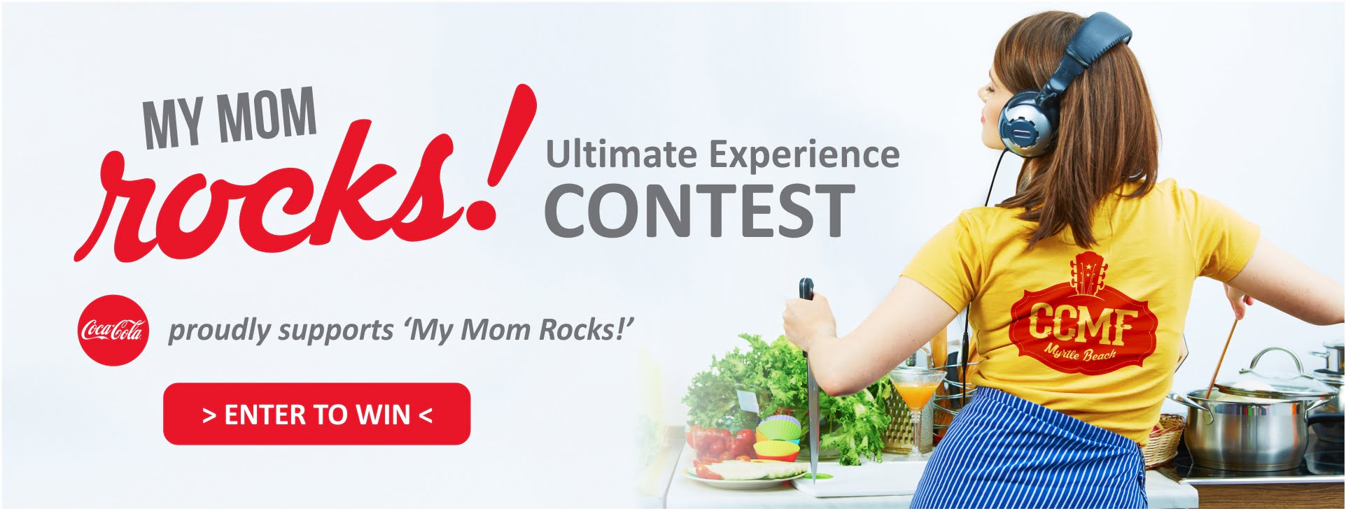 Nominate a deserving momma for 'My Mom Rocks' Ultimate Carolina Country Music experience with Coca-Cola©