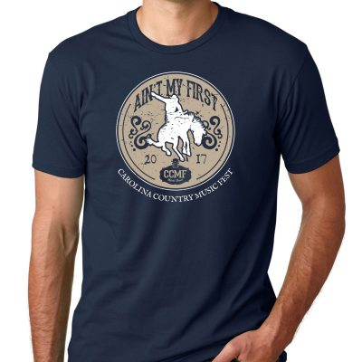 """CCMF """"Ain't My First Rodeo"""" Tee – Navy"""
