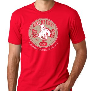 "CCMF ""Ain't My First Rodeo"" Tee – Red"
