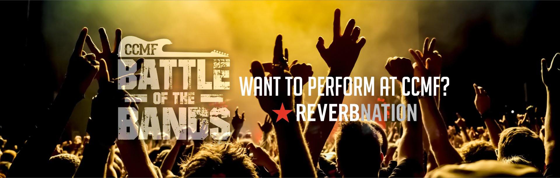 Want to perform at CCMF?!