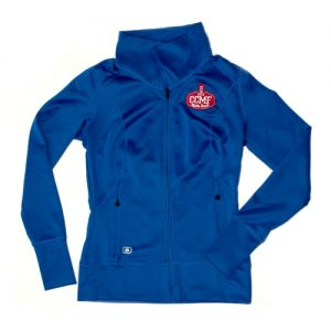 2016 Ladies CCMF Full Zip – Blue