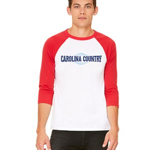 Carolina Country Baseball T-Shirt – Red