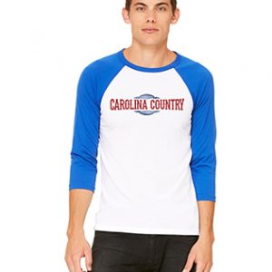 Carolina Country Baseball T-Shirt – Royal Blue