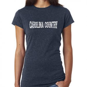 Carolina Country Glitter T-Shirt – Navy