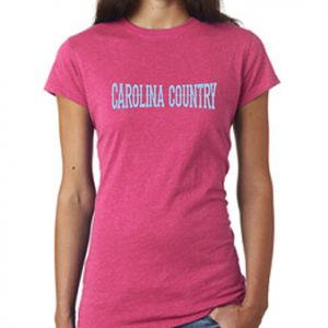 Carolina Country Glitter T-Shirt – Pink
