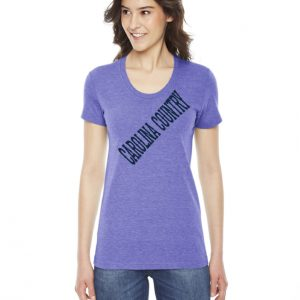 Carolina Country Scoop Neck T-Shirt – Orchid