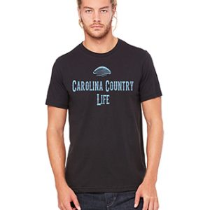 Carolina Country Life Men's Crew T-Shirt – Black