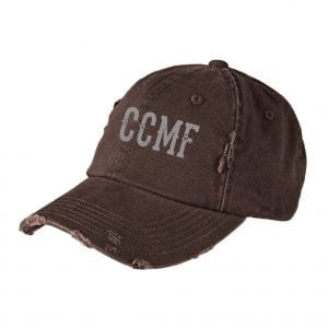 CCMF Distressed Hat – Nickle