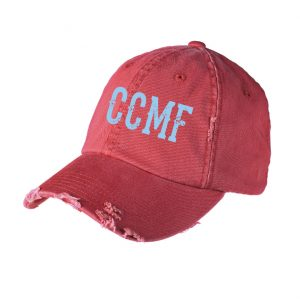 CCMF Distressed Hat – Red