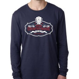 2016 CCMF Men's Logo L/S T-Shirt – Navy