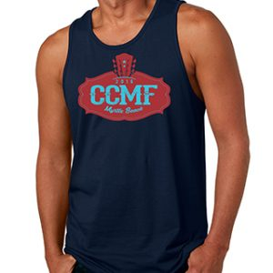 2016 CCMF Men's Tank Top – Navy