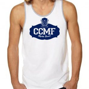 2016 CCMF Men's Tank Top – White