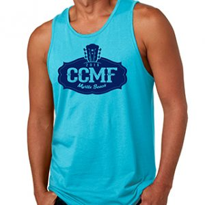 2016 CCMF Men's Tank Top – Turquoise