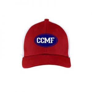 CCMF Youth Mesh Hat – Red