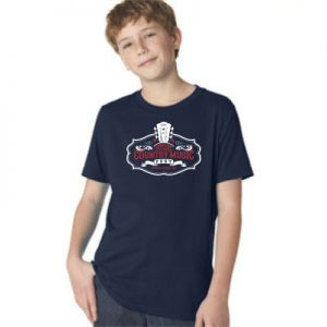 2016 CCMF Crew Neck Youth T-Shirt – Navy