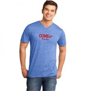 2016 CCMFer Men's V-Neck Shirt – Royal Blue