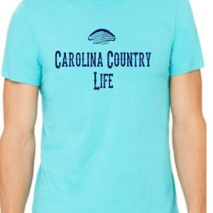 Carolina Country Life Men's Crew T-Shirt – Turquoise