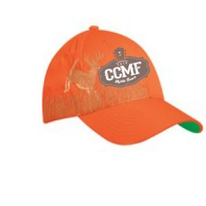 2016 CCMF Hat with Deer Embroidery – Orange