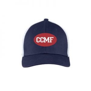 CCMF Youth Mesh Hat – Navy