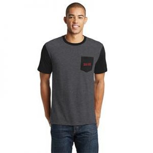 Carolina Country Men's Pocket T-Shirt – Black
