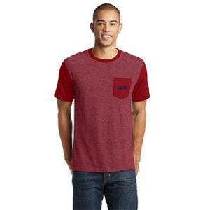 Carolina Country Men's Pocket T-Shirt – Red