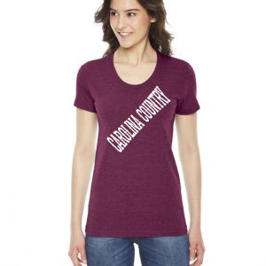 Carolina Country Scoop Neck T-Shirt – Cranberry