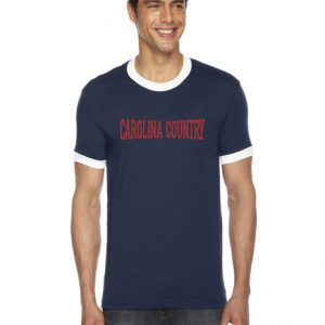 Carolina Country Ringer T-Shirt – Navy