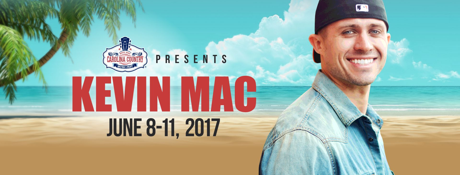 Kevin Mac Joins Carolina Country Music Fest!