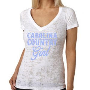 Carolina Country Girl – White