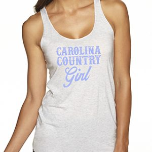 Carolina Country Girl Tank Top – Vintage White