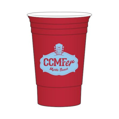 CCMF Red Solo Tumbler