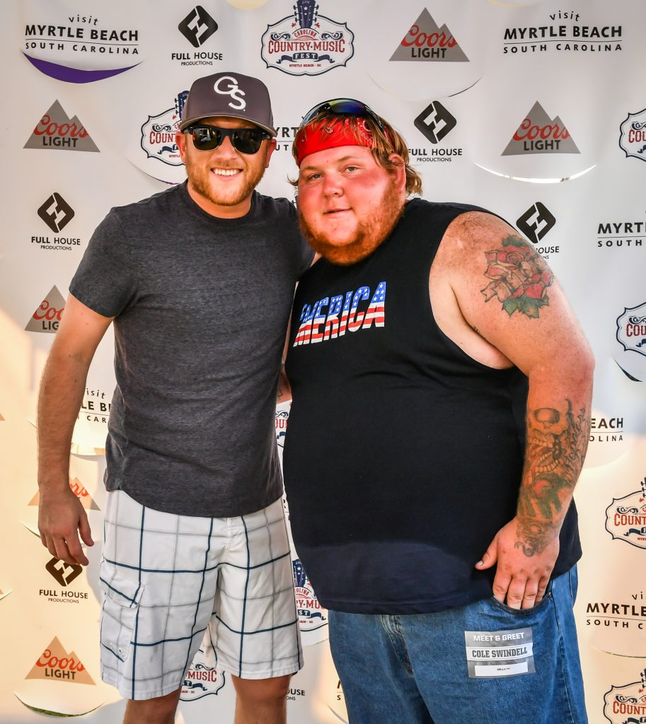 cole swindell meet and greet pictures