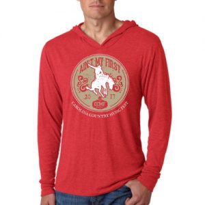 "CCMF ""Ain't My First Rodeo"" Hoody – Red"