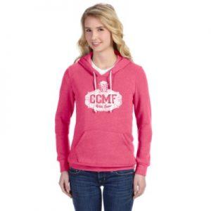 CCMF Sweatshirt Hoody – Hot Pink