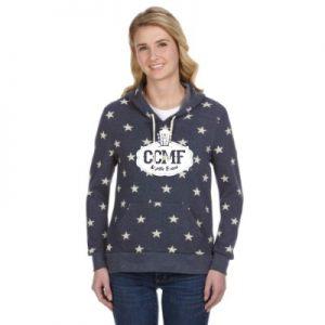 CCMF Sweatshirt Hoody – Indigo Star