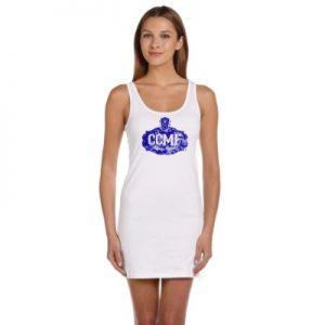 CCMF Tank Dress – White
