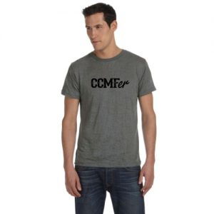 CCMFer Burnout Crew T-Shirt – Grey
