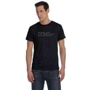 CCMFer Burnout Crew T-Shirt – Black