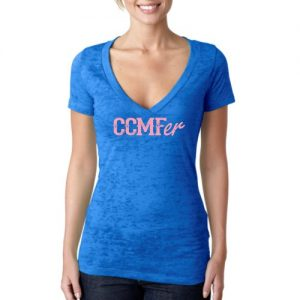 CCMFer Deep V Burnout – Royal Blue
