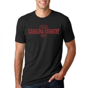 Carolina Country Sundown Crew T-Shirt – Black