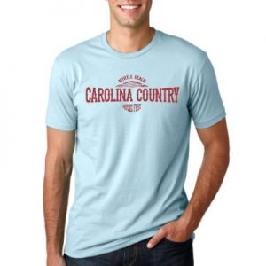 Carolina Country Sundown Crew T-Shirt – Light Blue