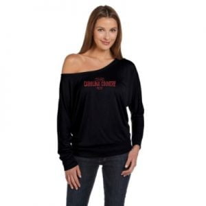 Carolina Country Dolman Sundown Long Sleeve Shirt – Black