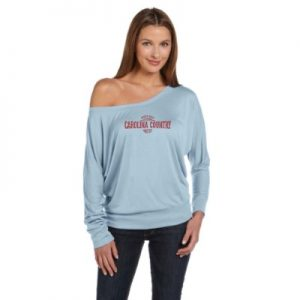 Carolina Country Dolman Sundown Long Sleeve Shirt – Light Blue