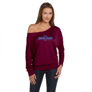 Carolina Country Dolman Sundown Long Sleeve Shirt – Maroon