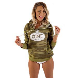 CCMF Sweatshirt Hoody – Green Camo