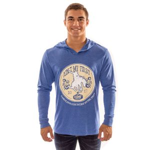 "CCMF ""Ain't My First Rodeo"" Hoody – Blue"
