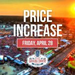 Price Increase Friday, April 28